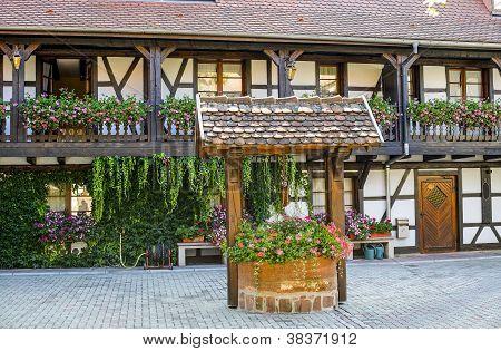 Entzheim (alsace) - Court