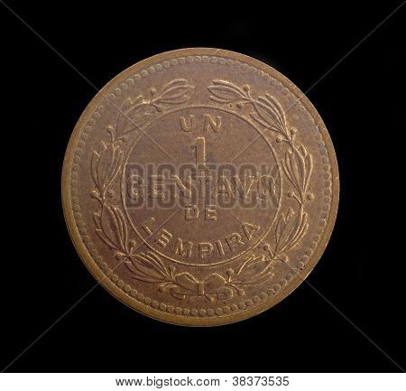 Honduras One Centavo Copper Coin