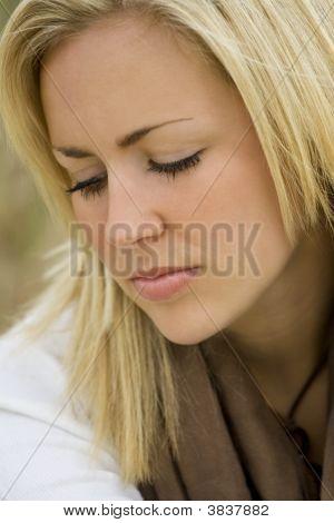 Thoughtful Beauty
