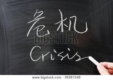 Palabra crisis