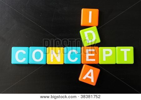 Crosswords Of Concept And Idea