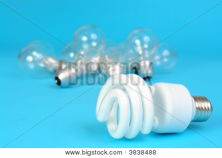 Cfl And Incandescent Bulbs