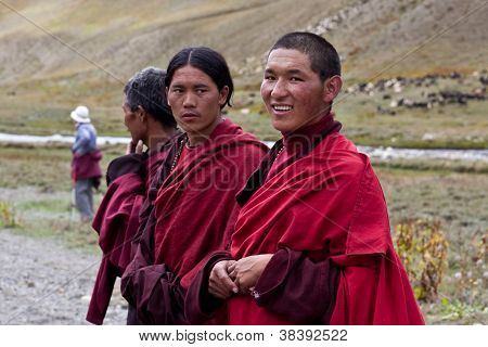 Tibetan Rnying-ma-pa Monks