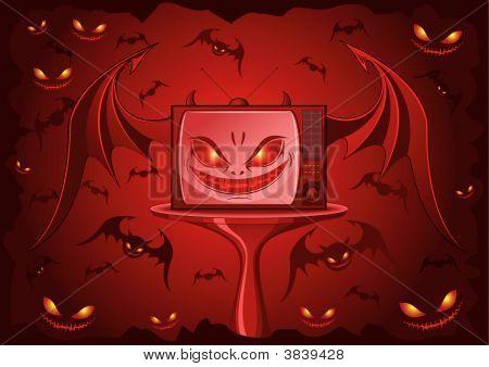 Red Evil Tv