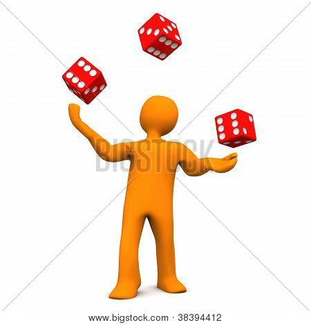 Juggling Dice