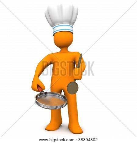 Chef Frying Pan