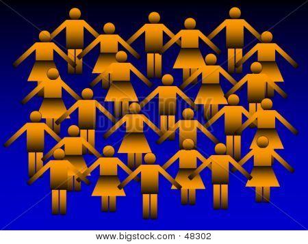Paperman - Human Crowd