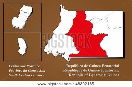 Equatorial Guinea - Centro Sur Highlighted