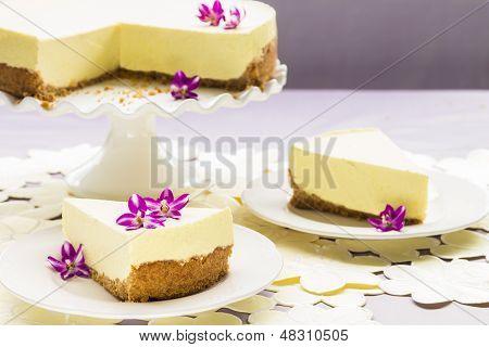 Lilikoi Chiffon Pie
