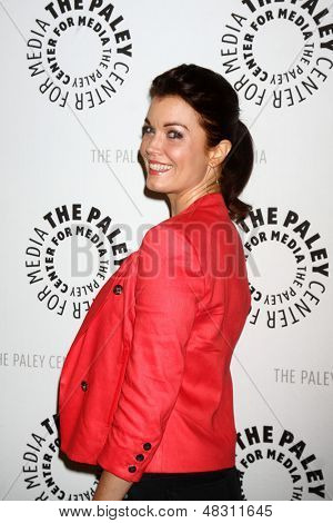 "LOS ANGELES - JUL 16:  Bellamy Young arrives at  ""An Evening With Web Therapy: The Craze Continues..."" at the Paley Center for Media on July 16, 2013 in Beverly Hills, CA"