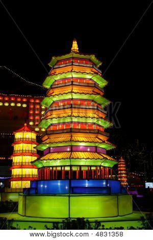 Lantern Performance (Pagoda)
