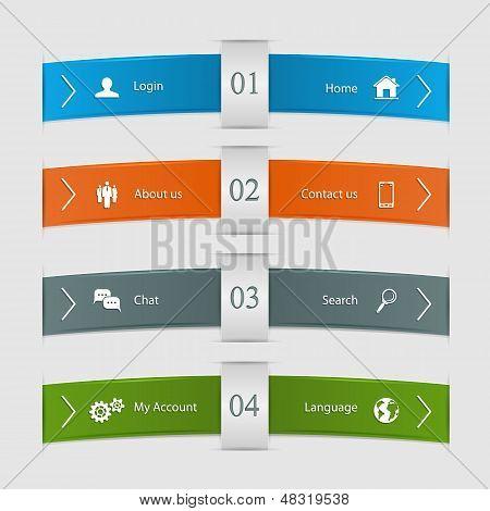 Infographic lines