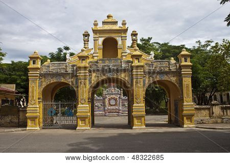 Gate to a Citadel in Hue