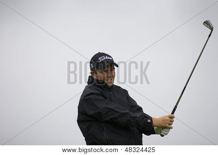 LOCH LOMOND, SCOTLAND - JUL 12 2009; Loch Lomond Scotland; Shane Lowry (IRL) competing in the final round of the PGA European Tour Barclays Scottish Open golf tournament.