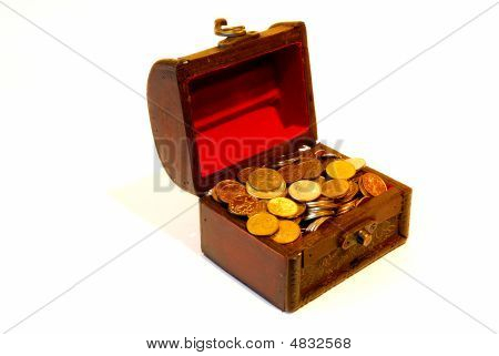 Trunk With Coins