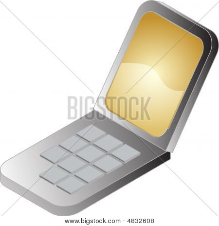 Mobile Phone Illustration
