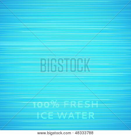 Fondo de textura de hielo azul