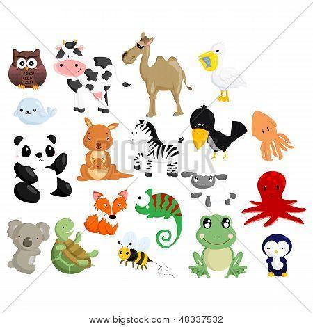 Animal Vector Set 2