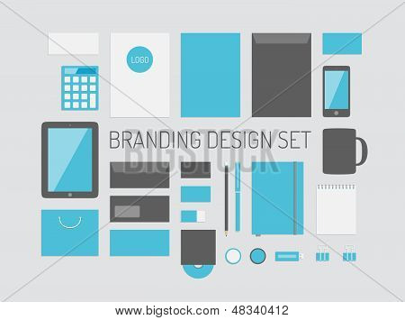 Branding identiteit Vector collectie