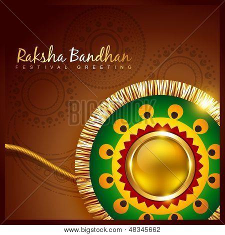vector hindu festival of raksha bandhan