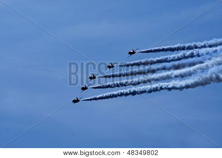 Red Arrows Aerobatic Display
