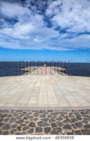 Petrozavodsk pier