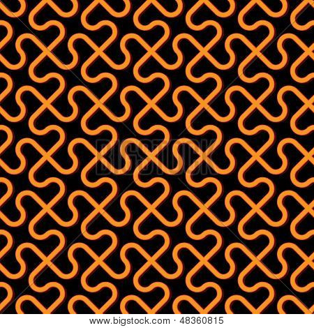 Vector Abstract Background - Freakish Seamless Pattern