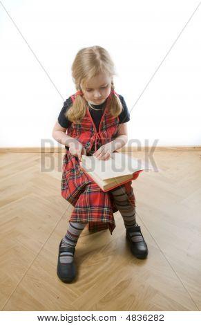 Serious  Schoolgirl