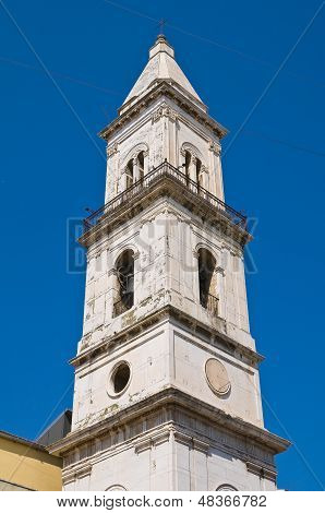Church of Carmine. Cerignola. Puglia. Southern Italy.