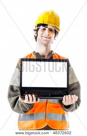 Engineer With Laptop