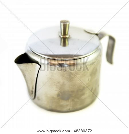 Coffee Pot Isolated On White