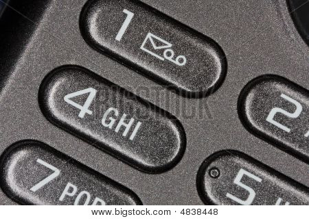 Phone Buttons With Message Icon
