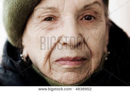 Senior Close Up