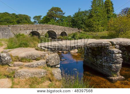 Postbridge Dartmoor National Park Devon England UK