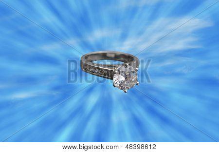Diamant-Solitaire-Verlobungsring