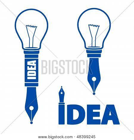 Símbolos de idéia