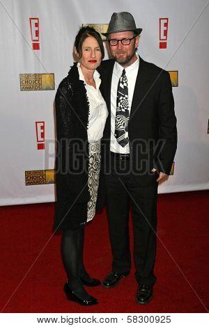 Valerie Faris and Jonathan Dayton at the 12th Annual Critics' Choice Awards. Santa Monica Civic Auditorium, Santa Monica, CA. 01-12-07