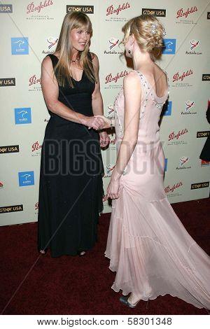Terri Irwin and Naomi Watts at the G'Day USA Penfolds Black Tie Icon Gala. Hyatt Regency Century Plaza, Los Angeles, CA. 01-13-07