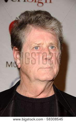Brian Wilson at the 2007 MusiCares Person of the Year Honoring Don Henley. Los Angeles Convention Center, Los Angeles, CA. 02-09-07