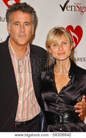 Christopher Lawford and Lana Antonova at the 2007 MusiCares Person of the Year Honoring Don Henley. Los Angeles Convention Center, Los Angeles, CA. 02-09-07