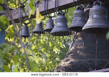 Bells of Holy Trinity Jonah Monastery in Kiev.