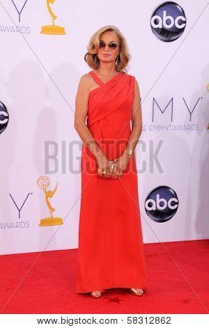 Jessica Lange at the 2012 Primetime Emmy Awards Arrivals, Nokia Theater, Los Angeles, CA 09-23-12