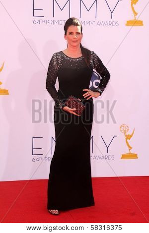 Julia Ormond at the 2012 Primetime Emmy Awards Arrivals, Nokia Theater, Los Angeles, CA 09-23-12