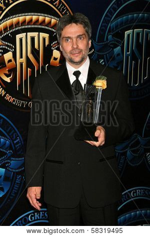 David Moxness at the American Society of Cinematographers 21st Annual Outstanding Achievement Awards. Hyatt Regency Century Plaza Hotel, Century City, CA. 02-18-07