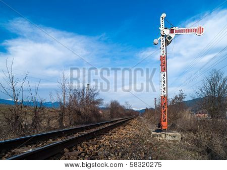 Train Semaphore Mechanical