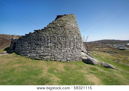 Dun Carloway Broch, Isle Of Lewis, Scotland