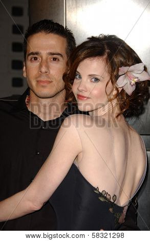 Kirk Acevedo and Kiersten Warren at the world premiere of