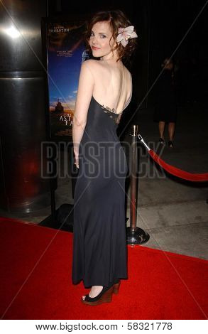 Kiersten Warren at the world premiere of
