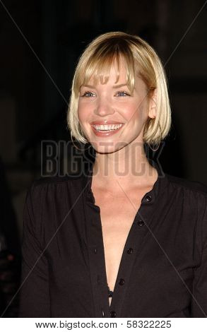 Ashley Scott at the 2006 GM TEN Fashion Show. Paramount Studios, Hollywood, CA. 02-20-07
