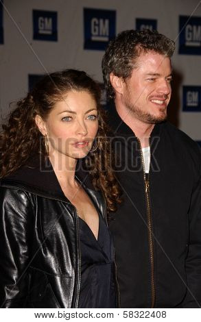 Rebecca Gayheart and Eric Dane at the 2006 GM TEN Fashion Show. Paramount Studios, Hollywood, CA. 02-20-07